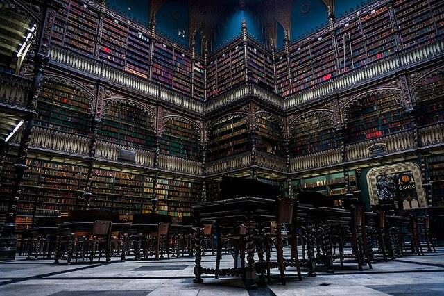 リオデジャネイロ・幻想図書館・王立ポルトガル図書館