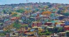カラフルな建物_チリ