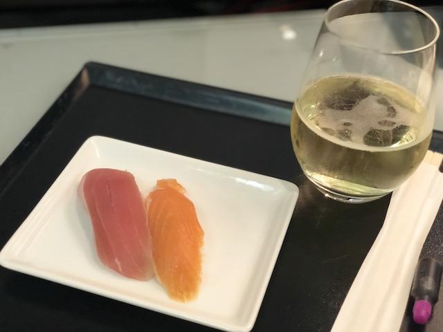 ANA ラウンジ ターミナル1 第4サテライト 寿司