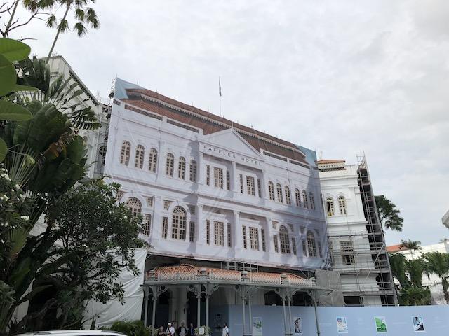 ラッフルズシンガポール 改装中の営業について 2019年最新版