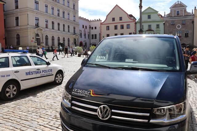 チェスキークルムロフ(チェコ )からウィーン(オーストリア)への都市間移動はシャトルバスが便利