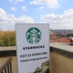 世界一眺めの良いスタバ:チェコにあるスターバックスプラハ城店