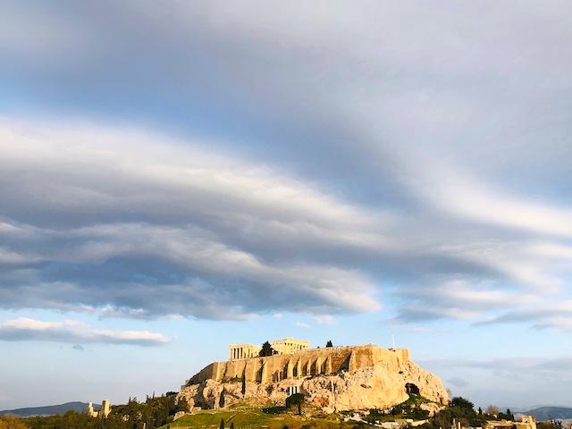 アクロポリス パルテノン神殿 チケット