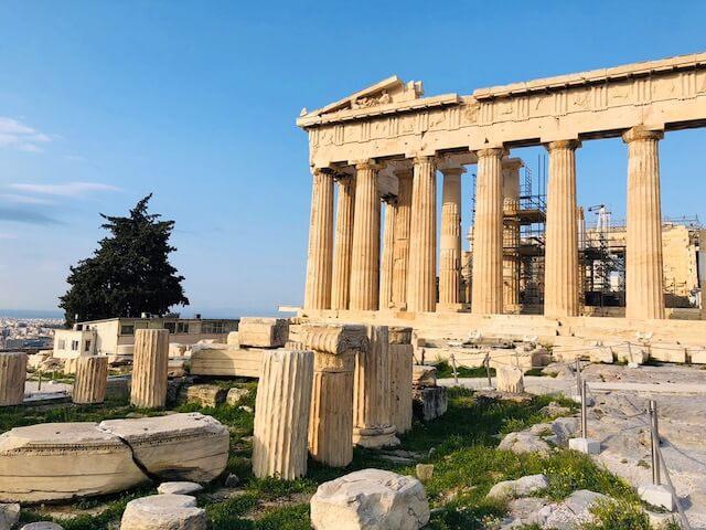 アテネ パルテノン神殿 行き方