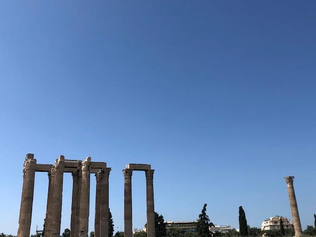 ゼウス神殿 行き方