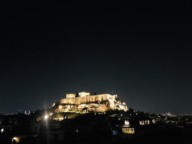 パルテノン神殿が見れる絶景ビューのホテル【アテネゲートホテル】