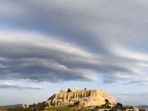 パルテノン神殿が見れるホテル